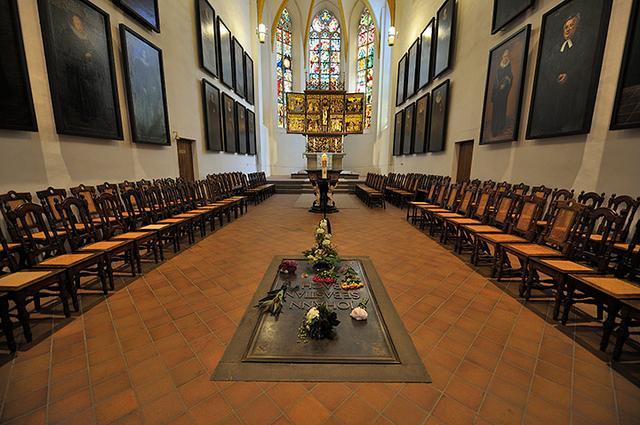 画像: 聖トーマス教会/バッハ墓所