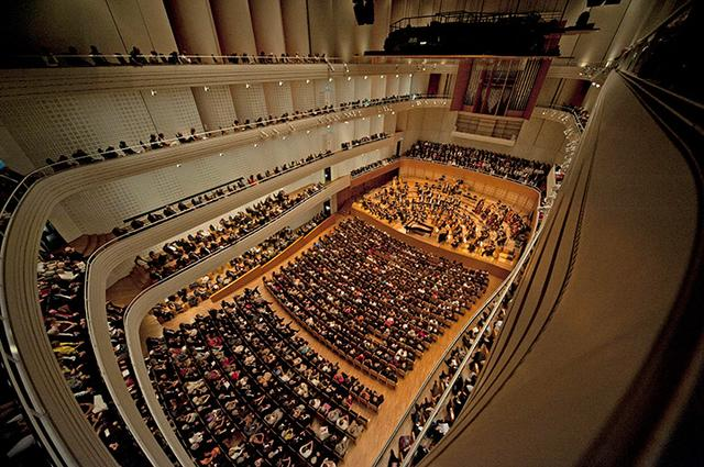 画像: カルチャーコングレスセンターの大ホール © Lucerne Festival