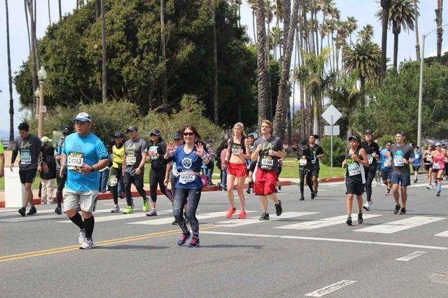 画像23: 【地球を走ろう】スタートはドジャースタジアム。LAを駆け巡る観光コース ロサンゼルスマラソン大会レポート