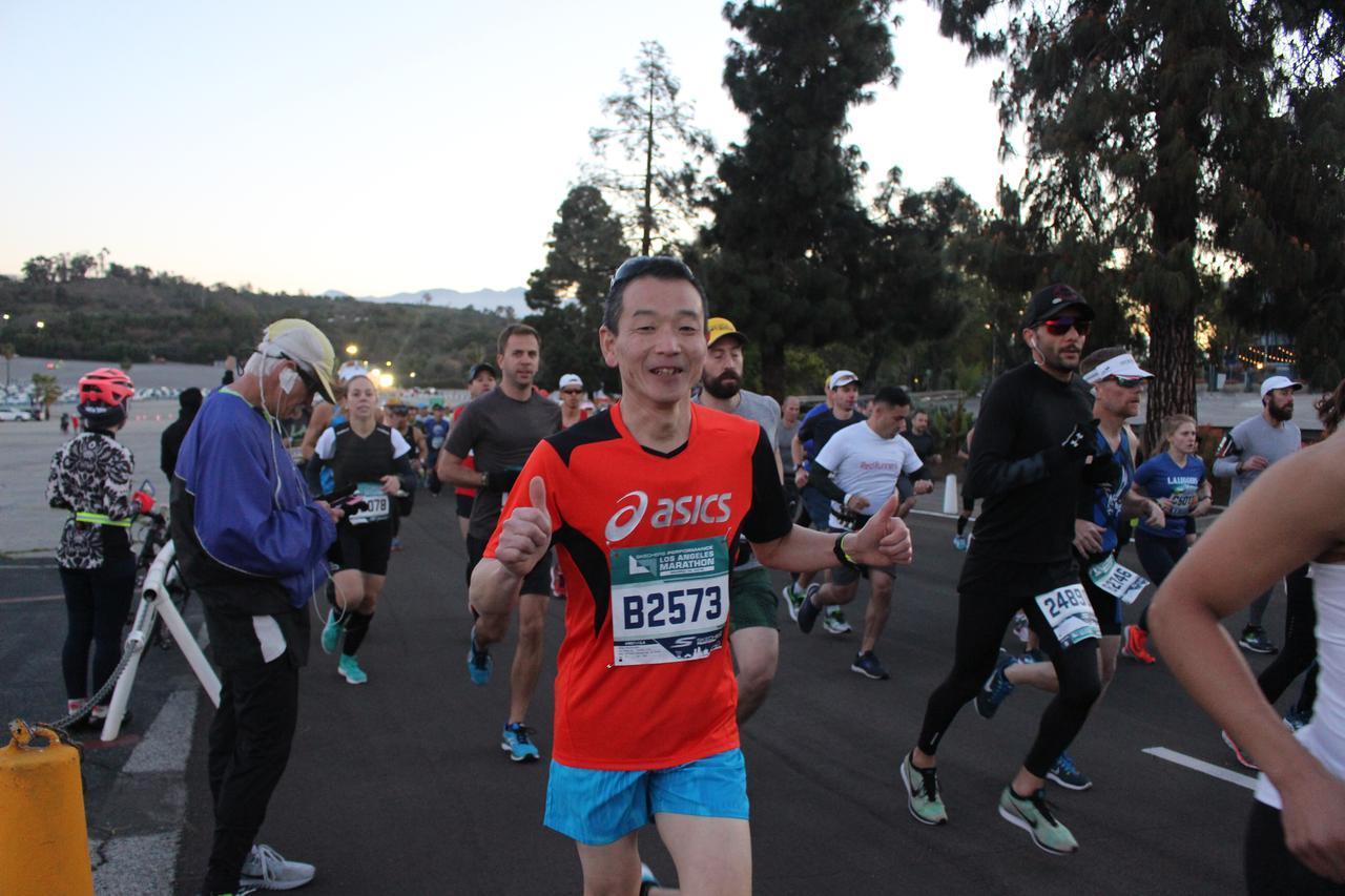 画像14: 【地球を走ろう】スタートはドジャースタジアム。LAを駆け巡る観光コース ロサンゼルスマラソン大会レポート