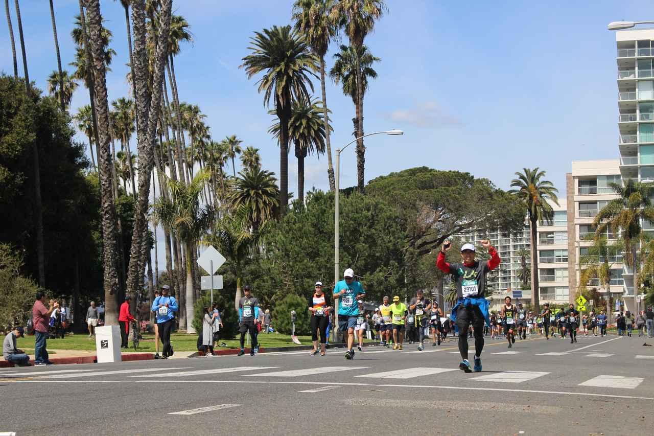 画像21: 【地球を走ろう】スタートはドジャースタジアム。LAを駆け巡る観光コース ロサンゼルスマラソン大会レポート