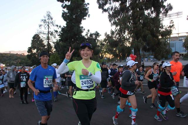 画像16: 【地球を走ろう】スタートはドジャースタジアム。LAを駆け巡る観光コース ロサンゼルスマラソン大会レポート