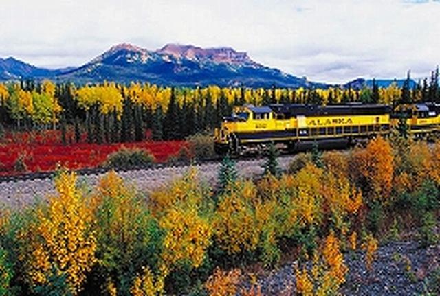 画像: アラスカ鉄道