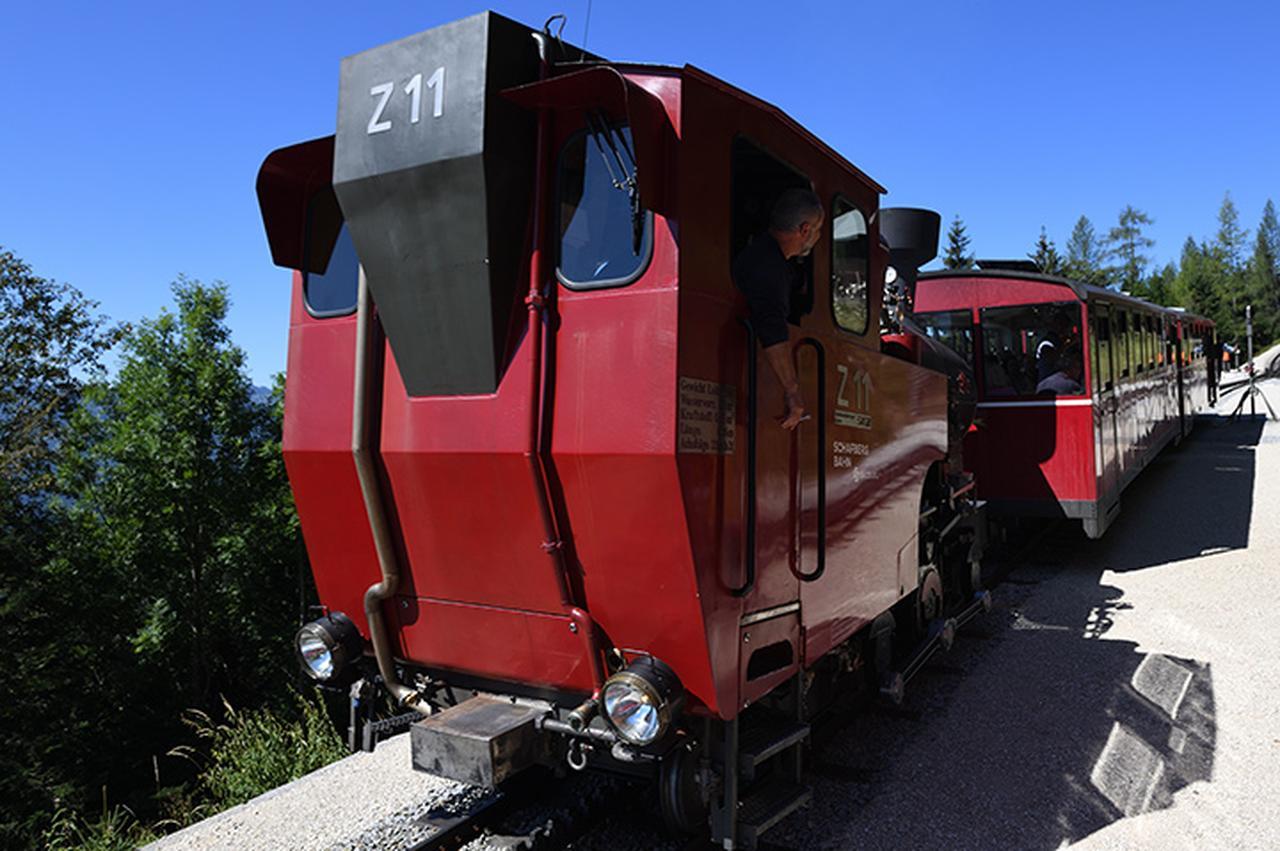 画像: ザルツカンマーグート シャーフベルク登山鉄道