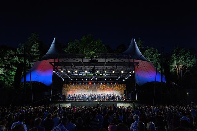 画像: ヴァルトビューネ野外コンサート