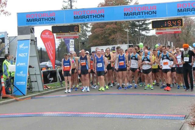 画像10: 【地球を走ろう】温泉とマオリの街 ニュージーランド ロトルアマラソンツアーレポート