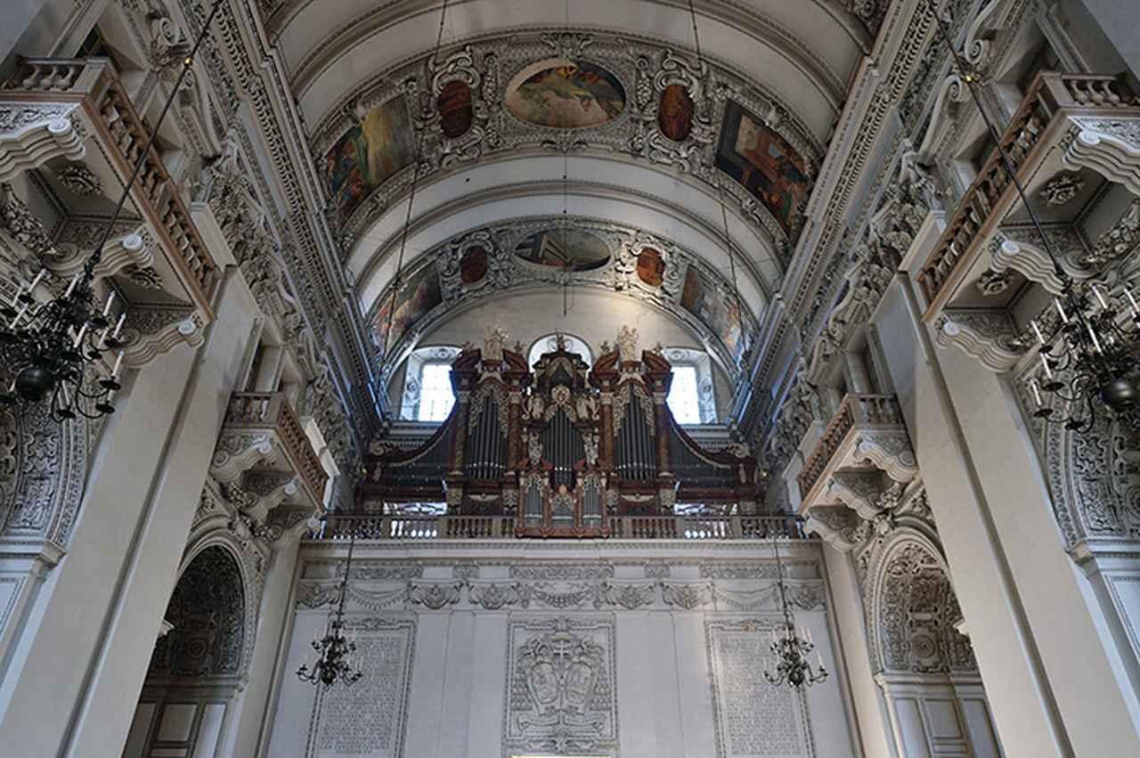 画像: 大聖堂のオルガン