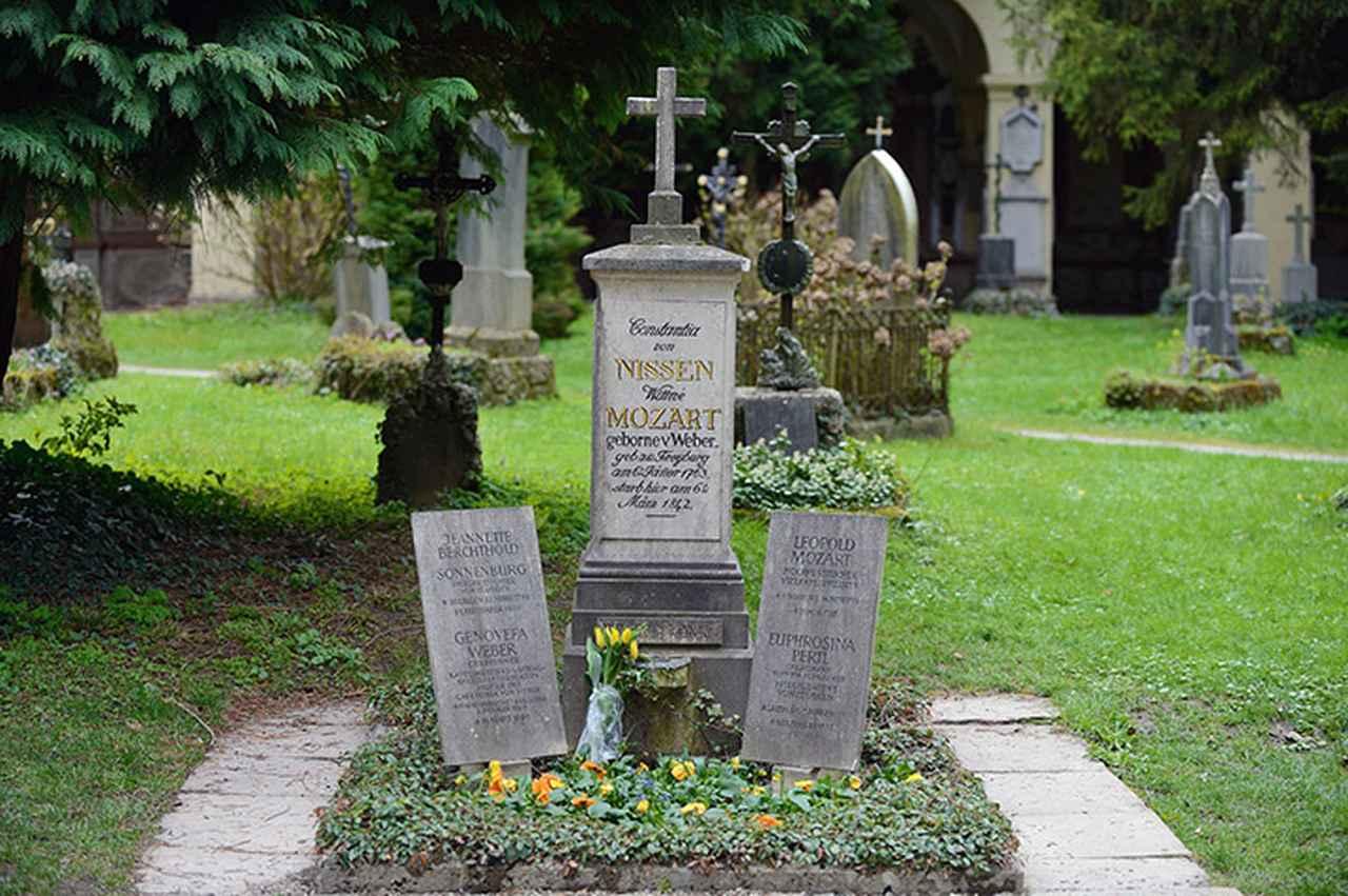 画像: 聖セバスティアン教会の墓地