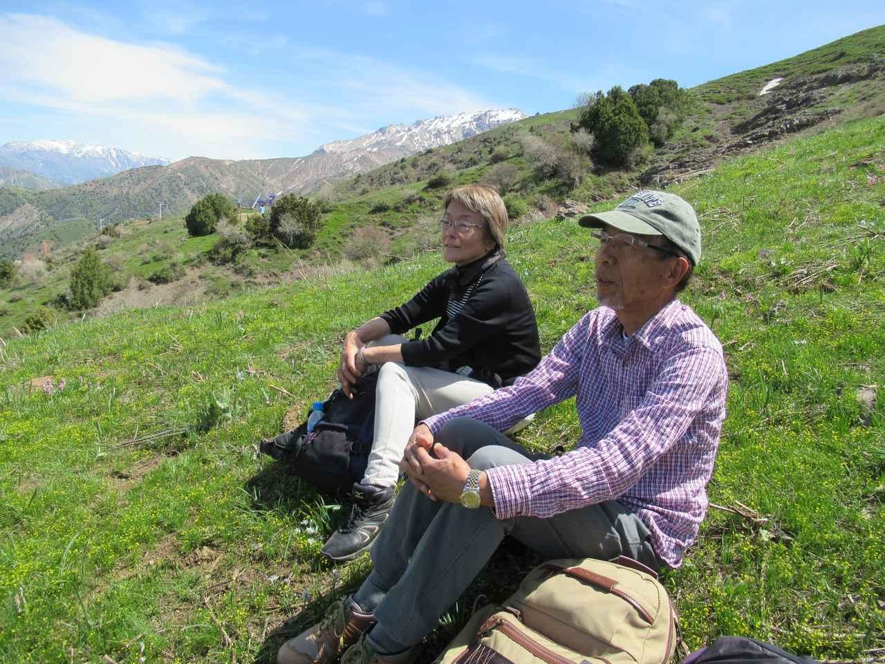 画像4: ハイキング中の風景