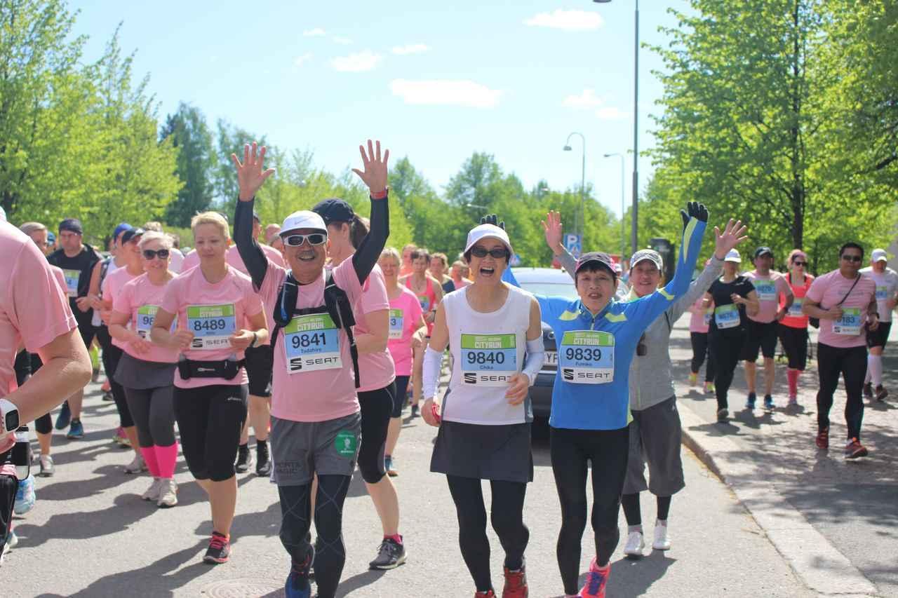 画像6: 【地球を走ろう!】5月開催 種目も増え参加しやすくなった  ヘルシンキシティマラソン ツアーレポート