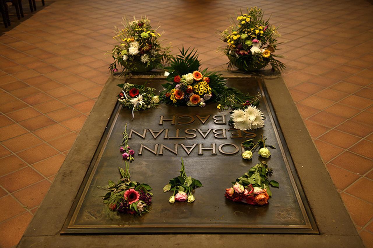 画像: バッハフェストのメイン会場 聖トーマス教会内バッハ墓所