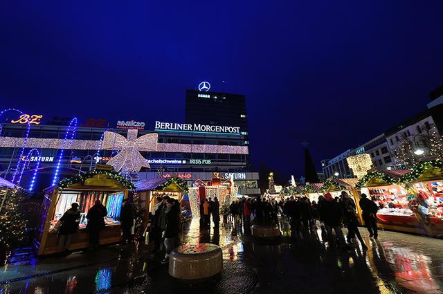 画像: ベルリン/ヨーロッパセンター前広場のクリスマス市