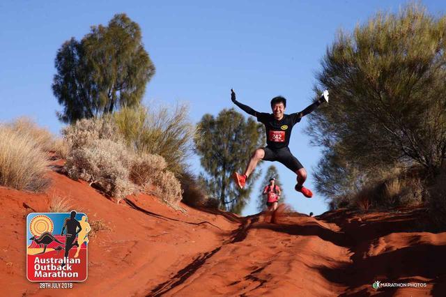 画像7: 【地球を走ろう!】アウトバック・エアーズロックマラソン  大会レポート