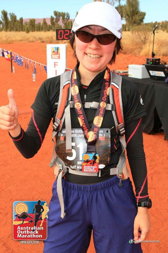 画像12: 【地球を走ろう!】アウトバック・エアーズロックマラソン  大会レポート
