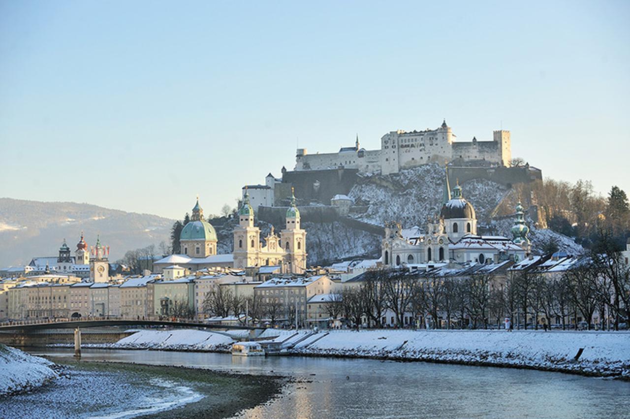 画像: 冬のザルツブルク旧市街
