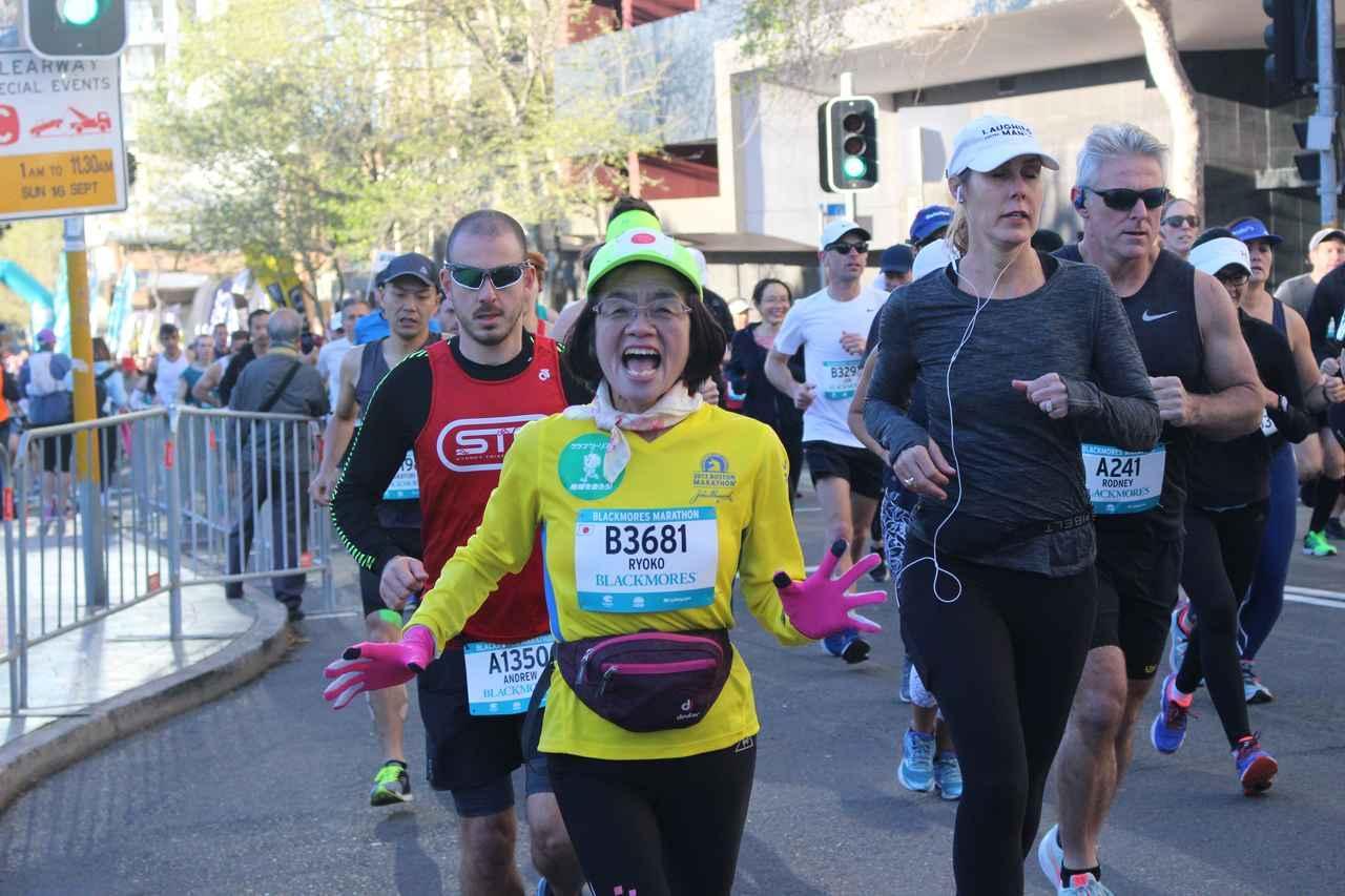 画像2: 続いて午前7時05分 フルマラソンスタート!