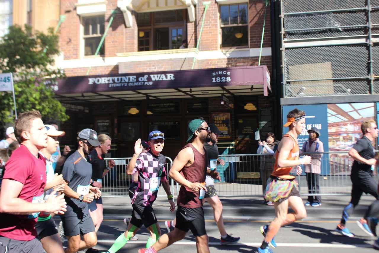 画像8: 続いて午前7時05分 フルマラソンスタート!
