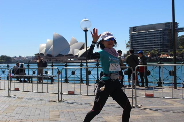 画像14: 続いて午前7時05分 フルマラソンスタート!