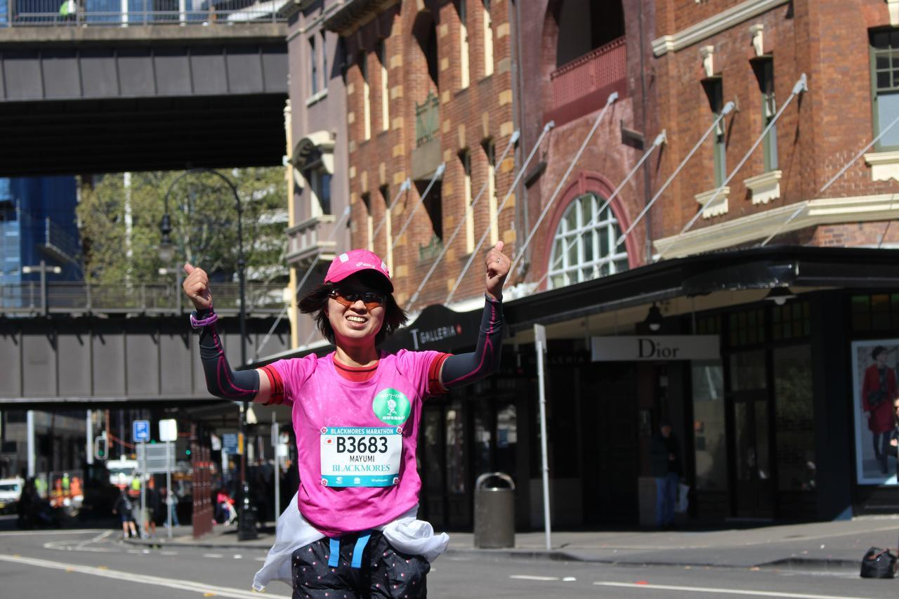 画像11: 続いて午前7時05分 フルマラソンスタート!