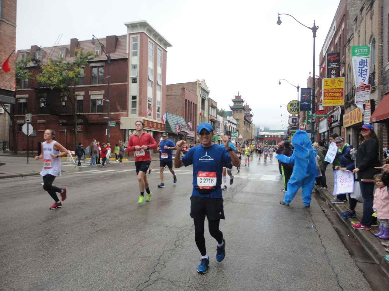 画像8: シカゴマラソンは10月の第1日曜日が大会。 今年は51名様にツアーにご参加いただきました!