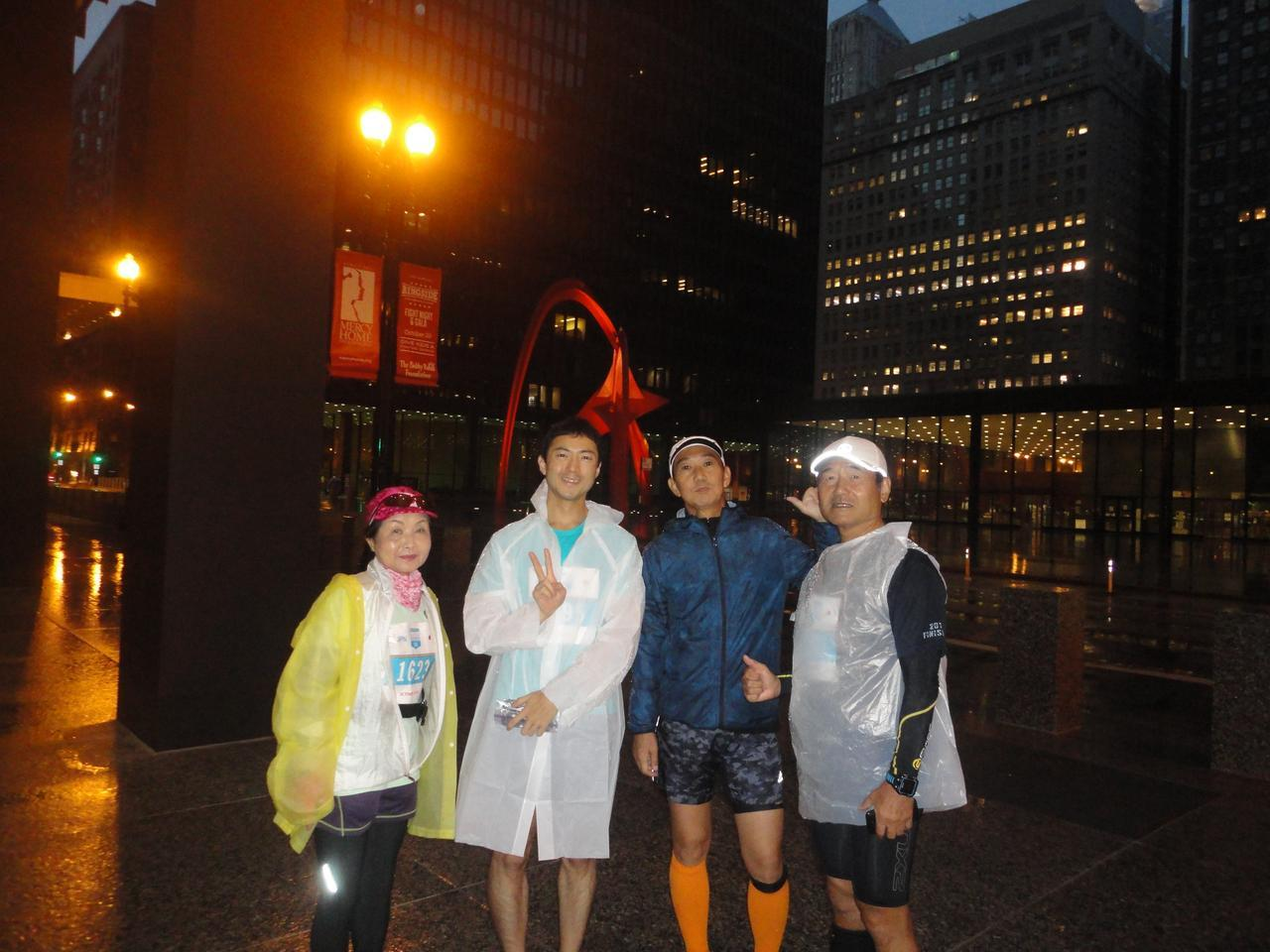画像2: シカゴマラソンは10月の第1日曜日が大会。 今年は51名様にツアーにご参加いただきました!