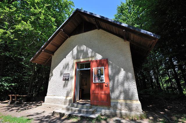 画像: マイアーニックのマーラー作曲小屋