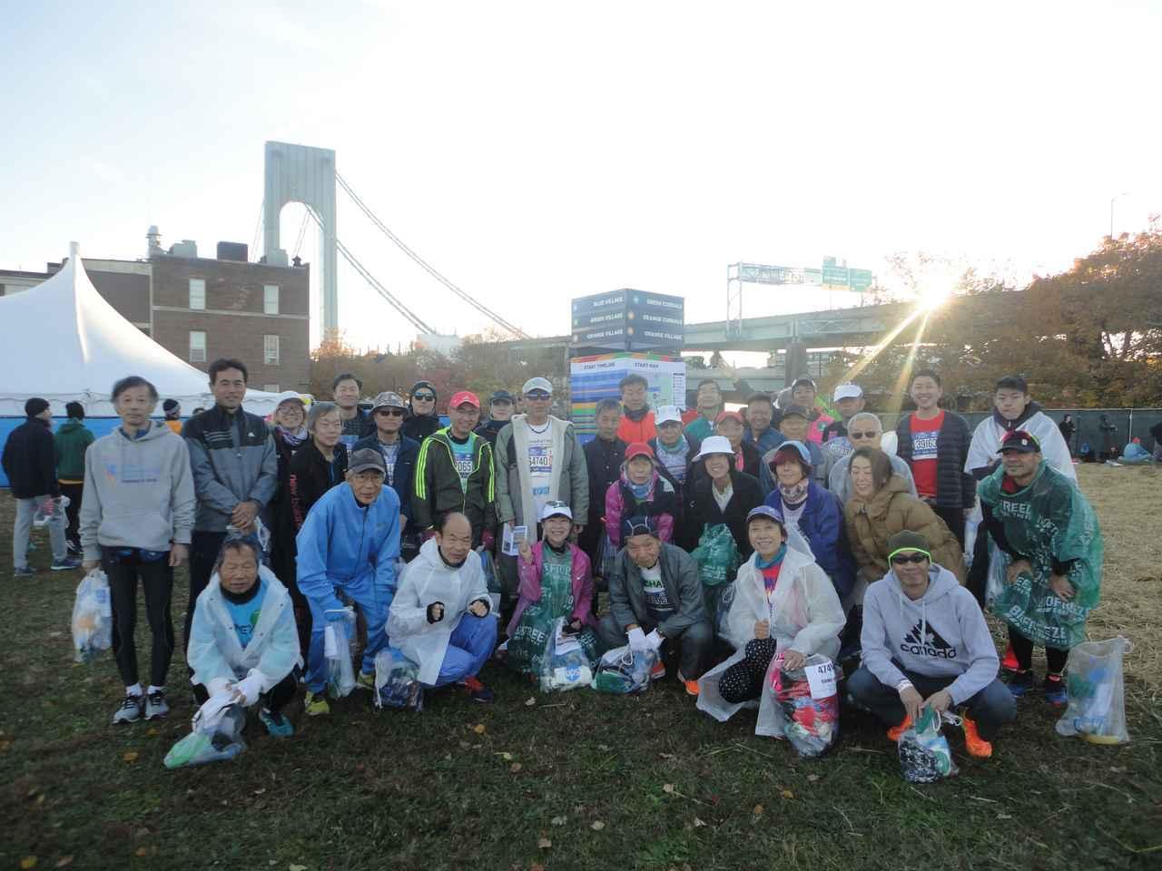 画像9: 2018年のニューヨークシティマラソンは11月4日(日)に開催となりました。 ツアーは50名様以上にご参加いただき、無事、全員完走!