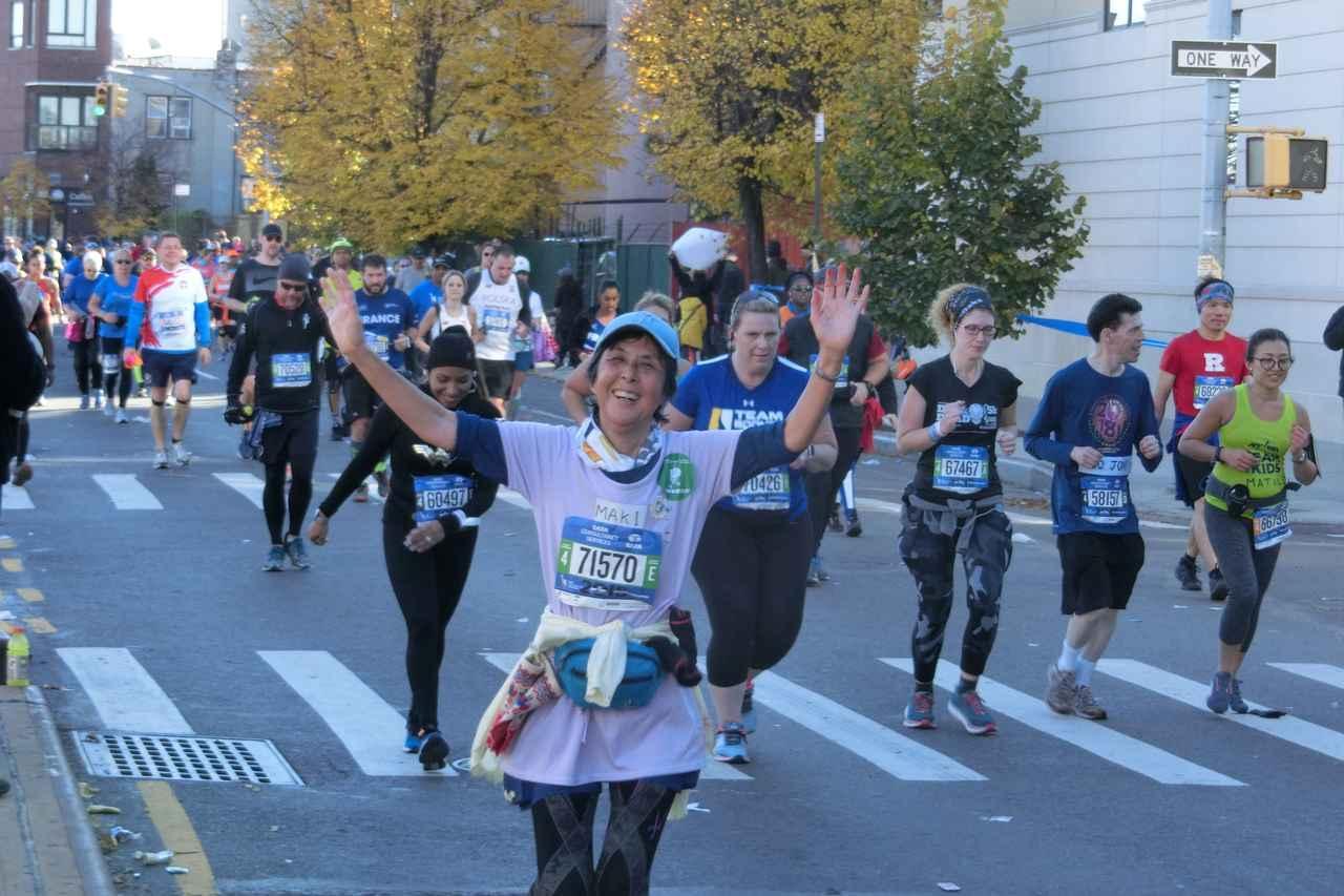 画像14: 2018年のニューヨークシティマラソンは11月4日(日)に開催となりました。 ツアーは50名様以上にご参加いただき、無事、全員完走!