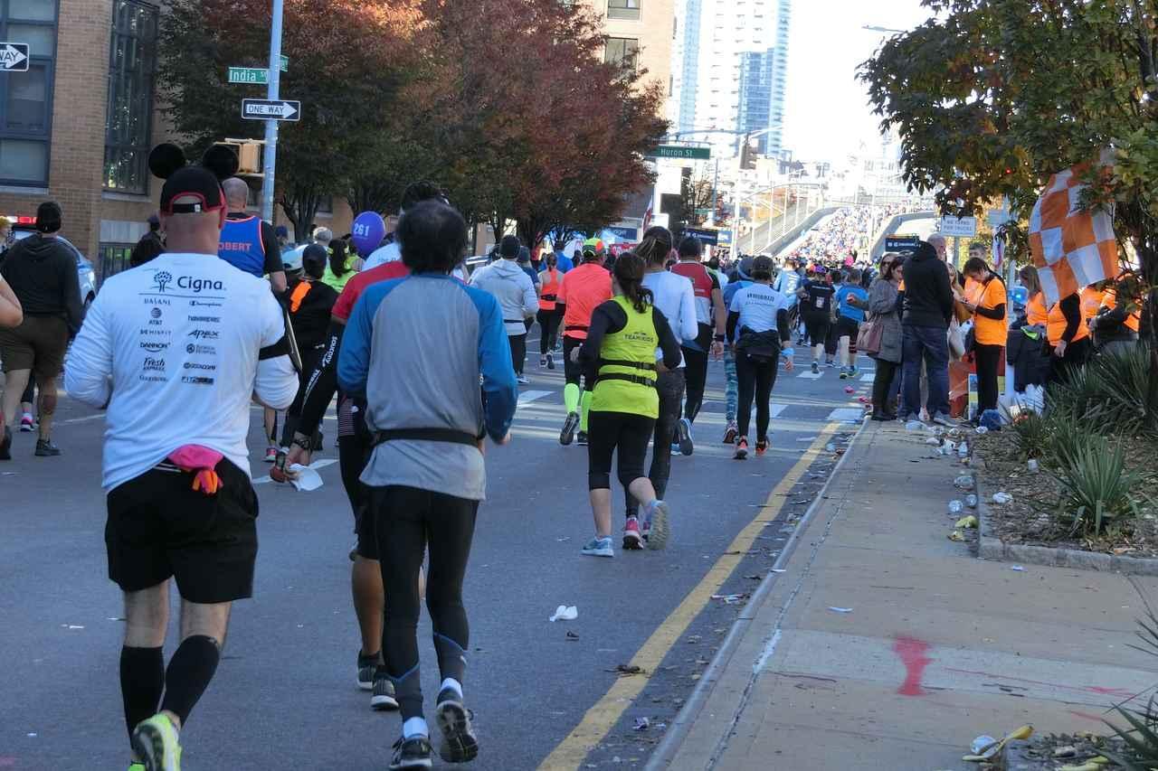 画像16: 2018年のニューヨークシティマラソンは11月4日(日)に開催となりました。 ツアーは50名様以上にご参加いただき、無事、全員完走!