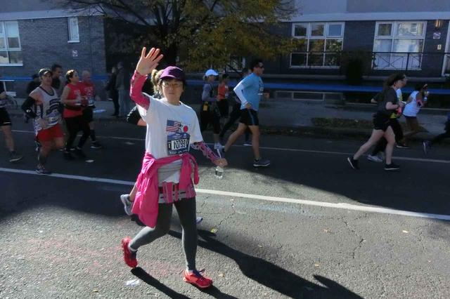 画像13: 2018年のニューヨークシティマラソンは11月4日(日)に開催となりました。 ツアーは50名様以上にご参加いただき、無事、全員完走!