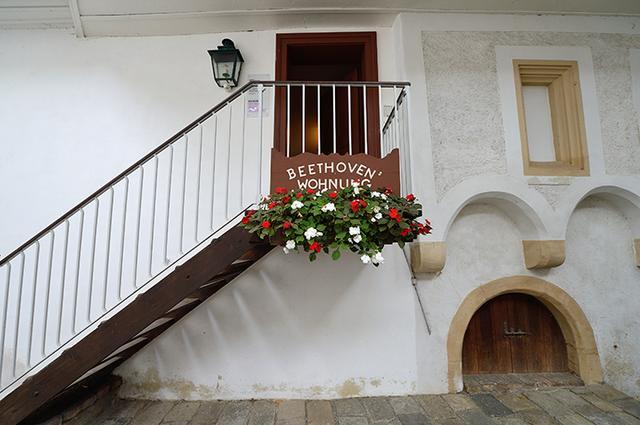 画像: ベートーヴェン博物館内ベートーヴェン住居入口