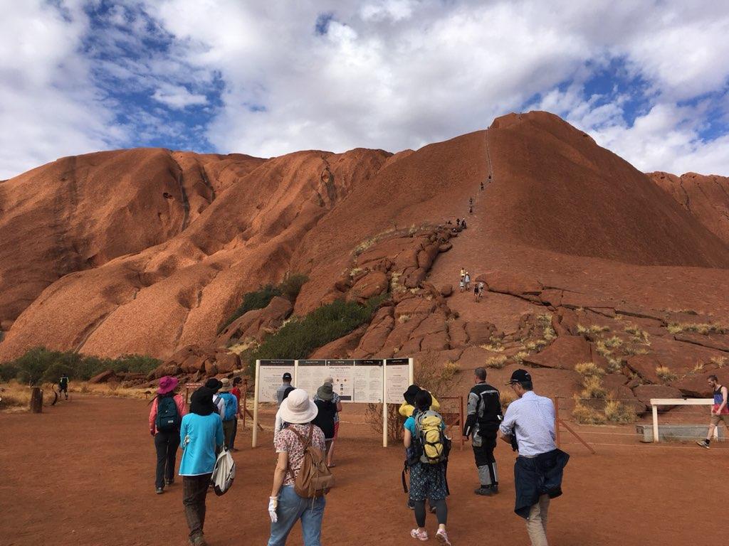 画像: 登山口の様子。ここからハイキングスタートです♩