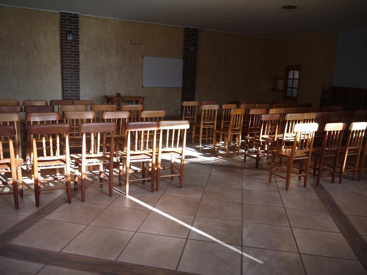 画像: 皆既時の太陽の位置/エルモジェのホテル敷地内から撮影