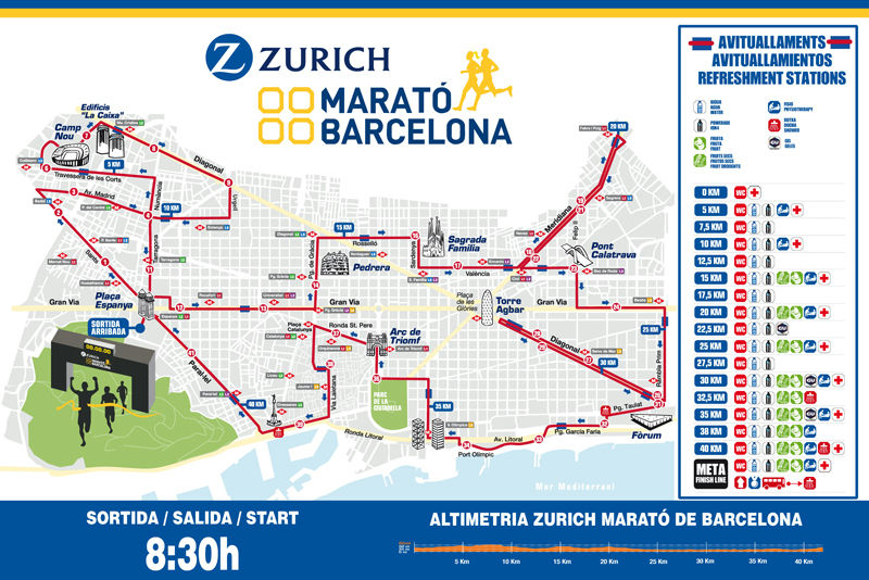 画像: バルセロナマラソン(ヨーロッパ・アフリカ) 地球を走ろう!マラソンツアー・旅行 クラブツーリズム