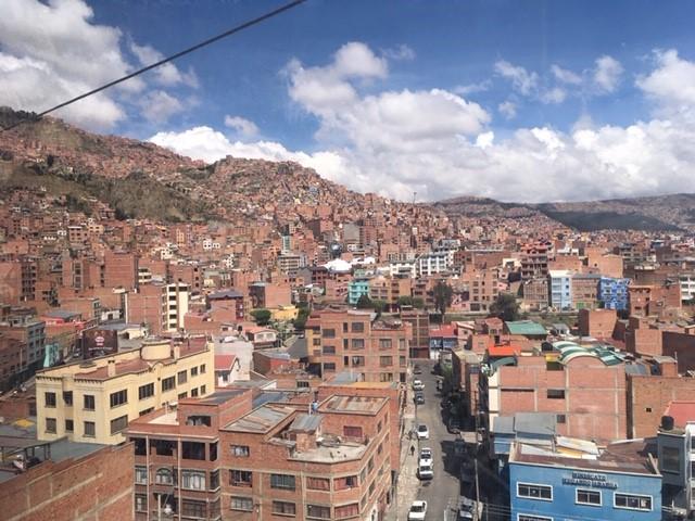 画像2: ラパス 天空の首都でロープウェイ乗車!