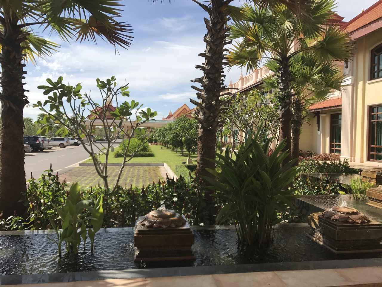 画像1: 今回も宿泊ホテルは5つ星のソカシェムリアップリゾートホテル