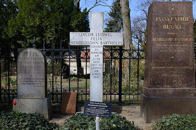 画像: ベルリンにあるメンデルスゾーンの墓所