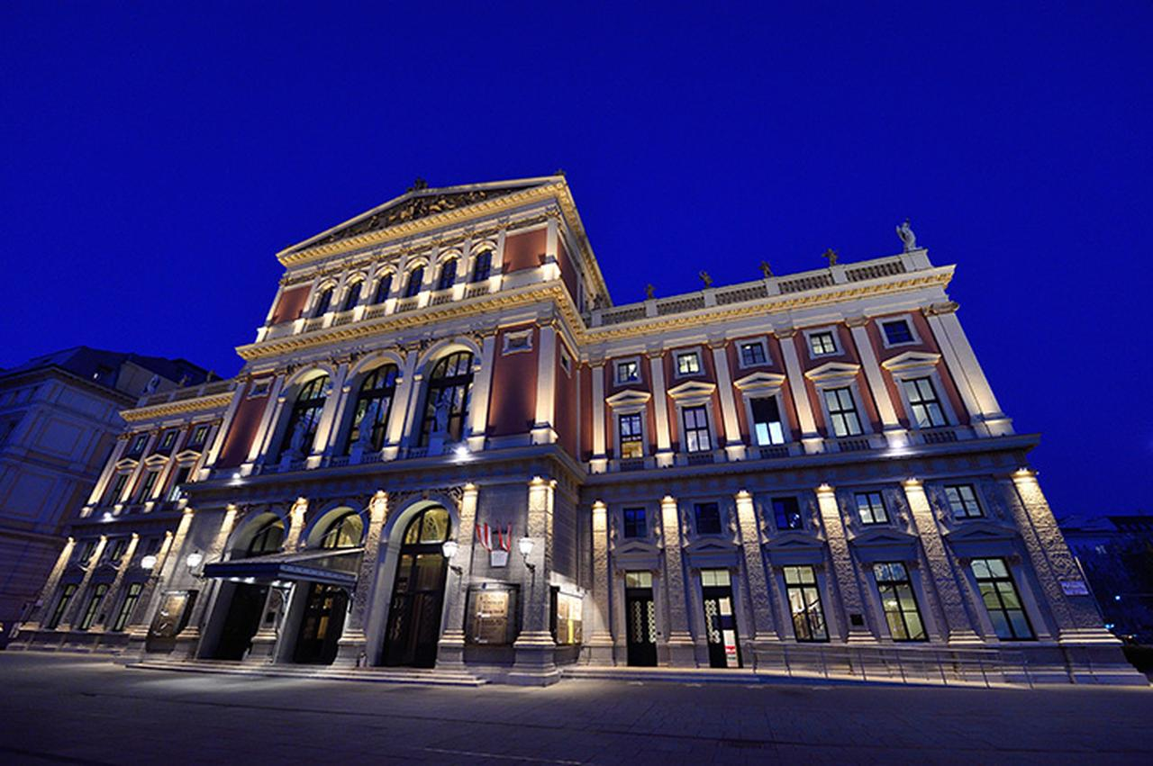 画像: ウィーン楽友協会ホール