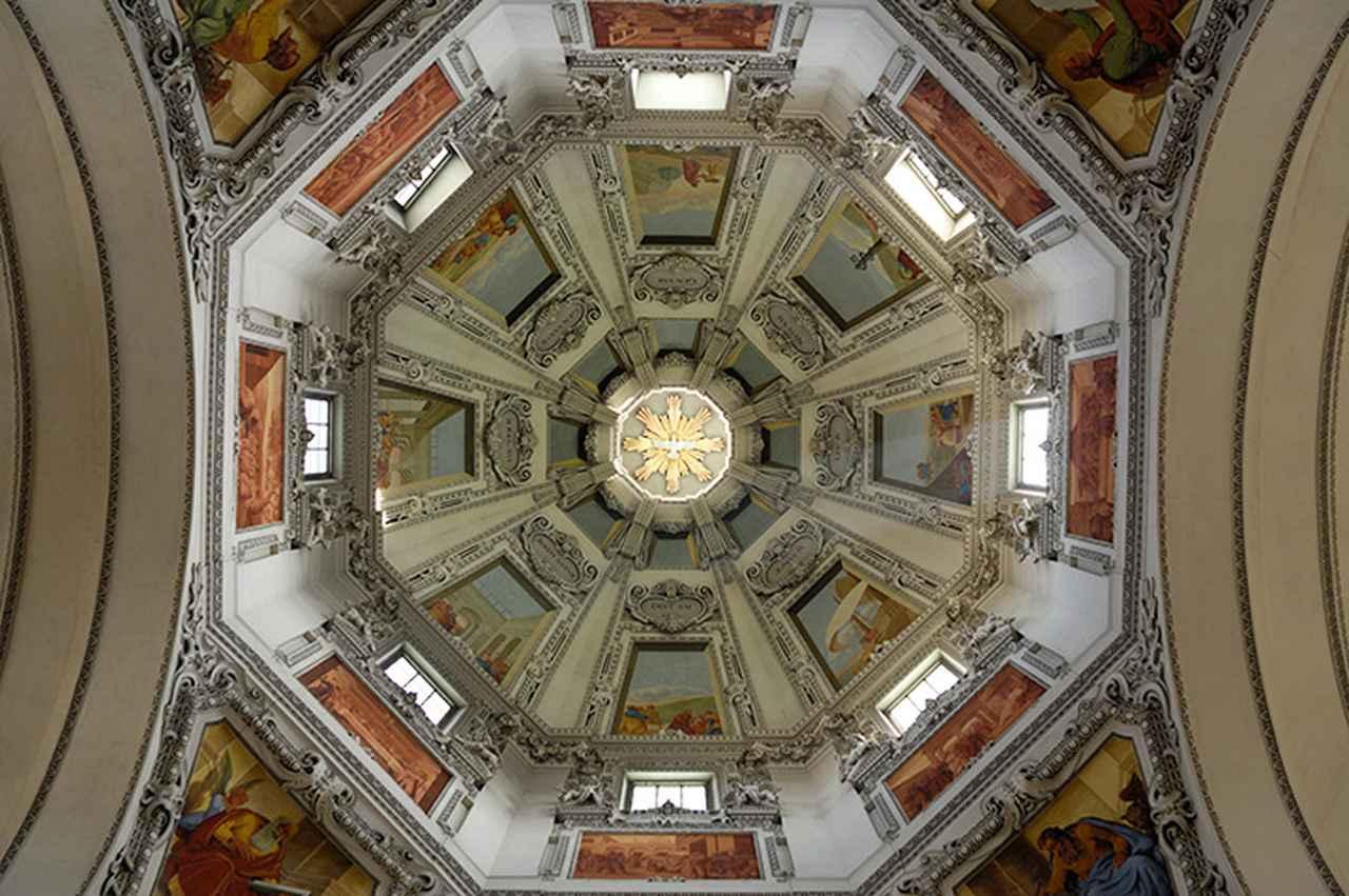 画像: 円蓋の内部