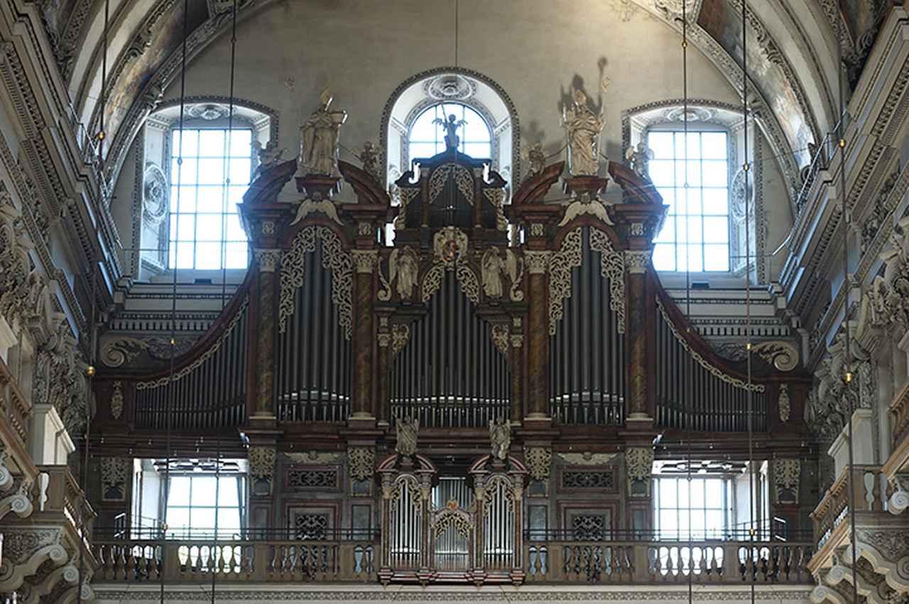 画像: 大聖堂の大オルガン