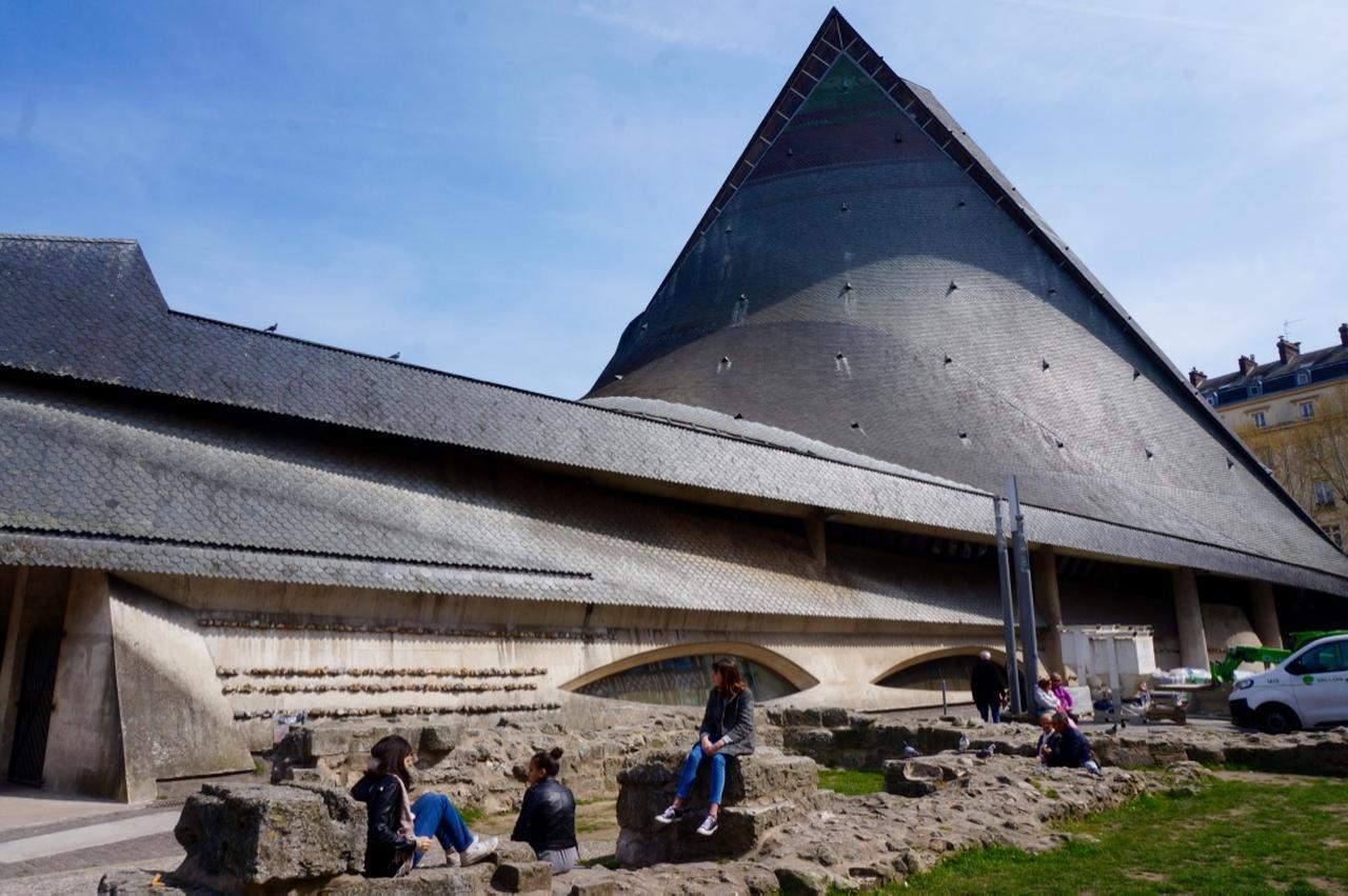 画像: ジャンヌダルク終焉の地、ルーアン