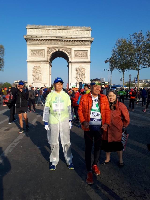 画像1: いよいよパリマラソンスタート!