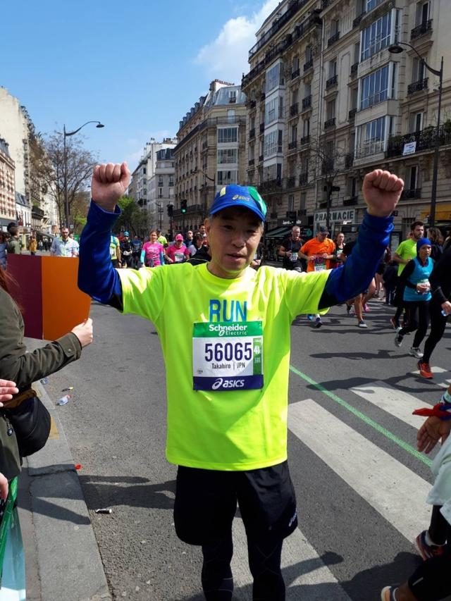画像5: いよいよパリマラソンスタート!