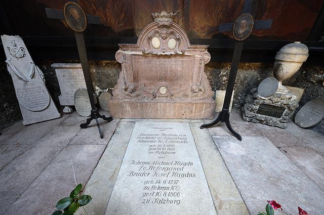 画像: 聖ペーター教会の墓地にあるナンネルの墓所