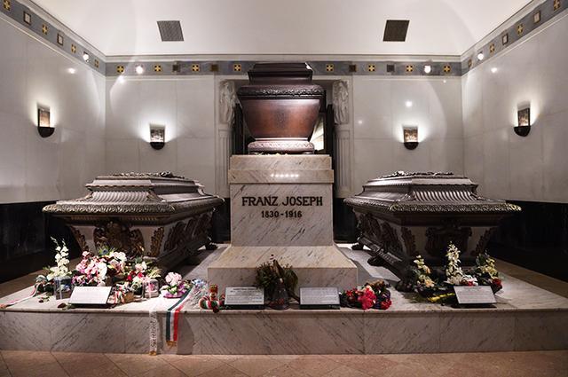画像: フランツ・ヨーゼフ1世の棺