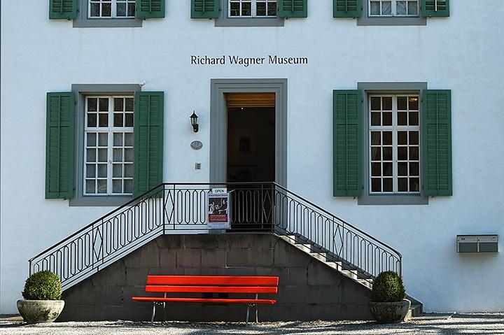 画像: ワーグナー記念館入口