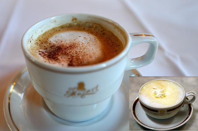画像: ウィーンの代表的なコーヒー「メランジュ」と「メランジュ・ミット・シュラーク」