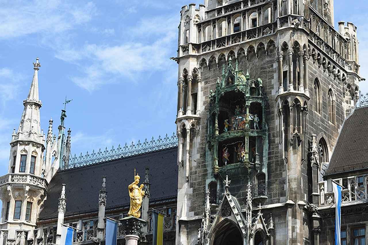 画像: ミュンヘン新市庁舎