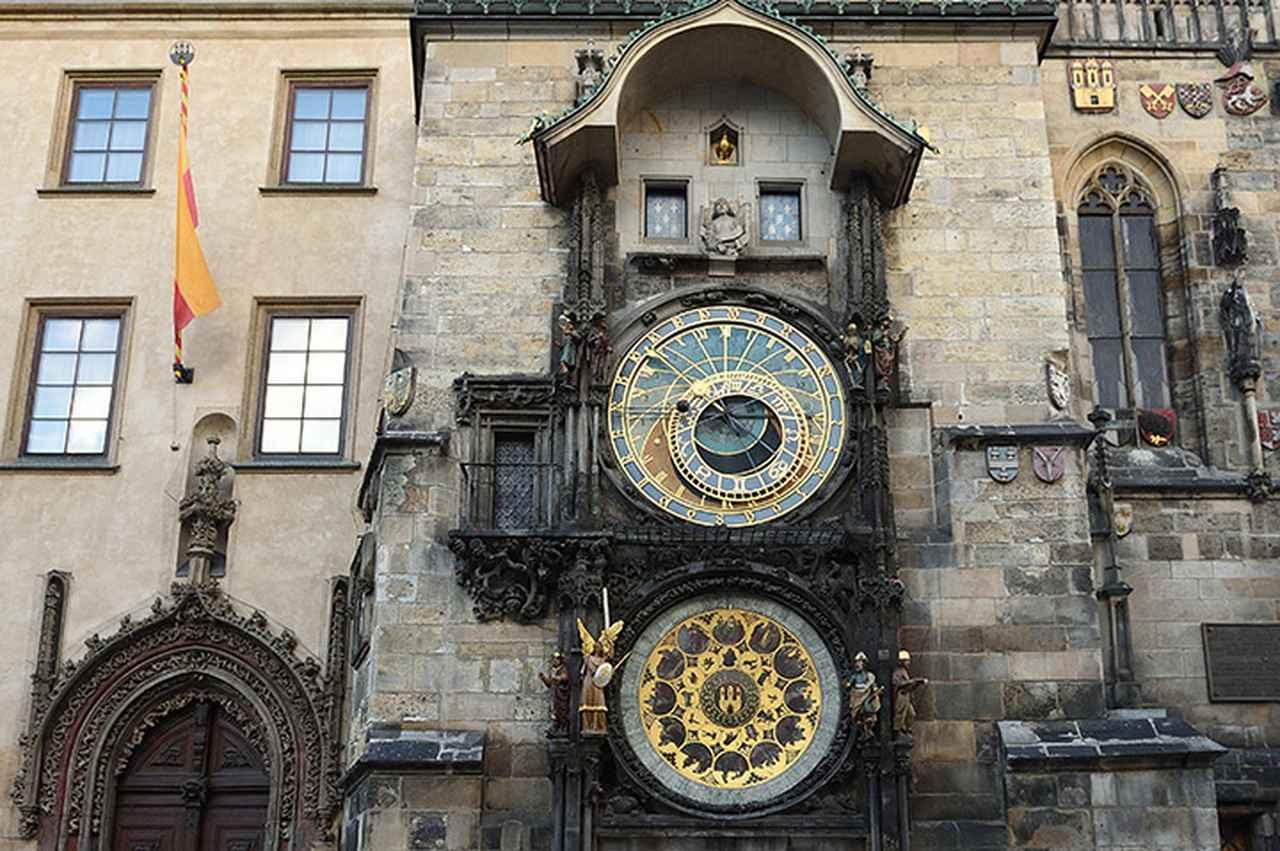 画像: 旧市庁舎の仕掛け時計