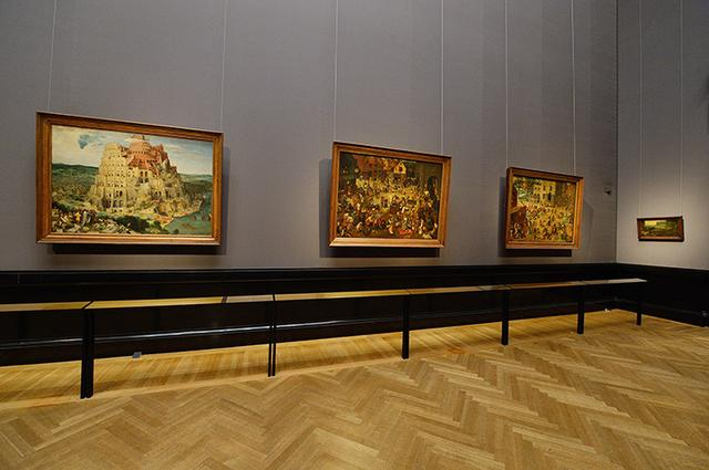 画像: 美術史美術館所蔵のブリューゲル・コレクション